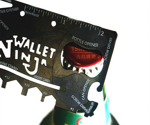 Kreditkarten Multi Werkzeug - Wallet Ninja 18 in 1