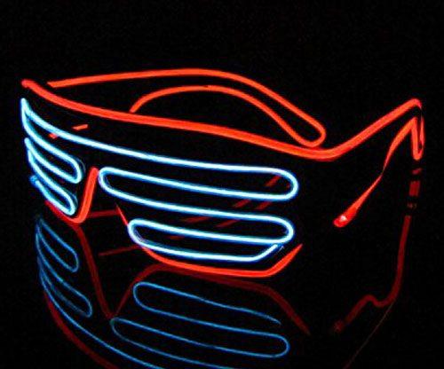 LED - Leuchtbrille mit Sound