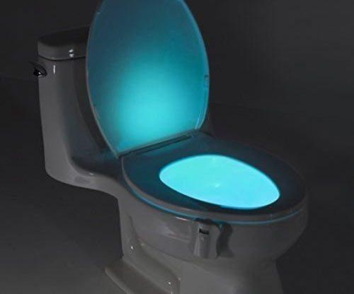 LED-Toilettenleuchte / WC-Beleuchtung in der Nacht
