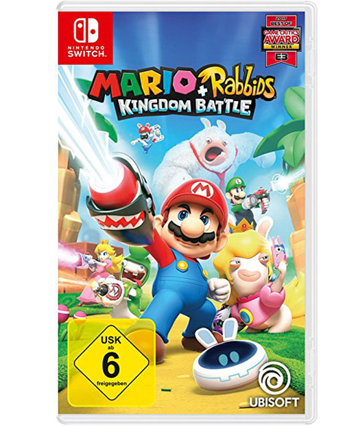 Mario & Rabbids Kingdom Battle für die Nintendo Switch, Ubisoft Italien