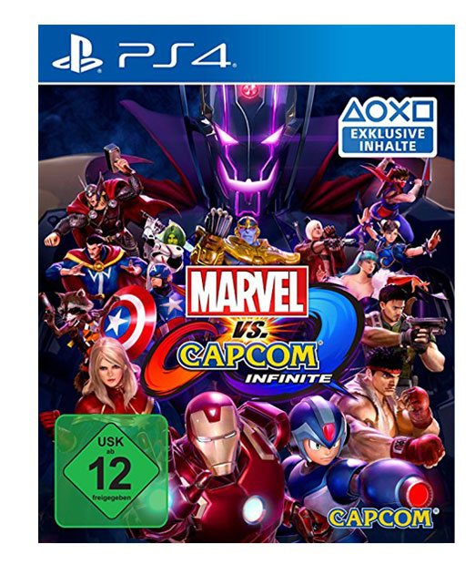 Marvel vs. Capcom Infinite für PS4, Capcom, Japan