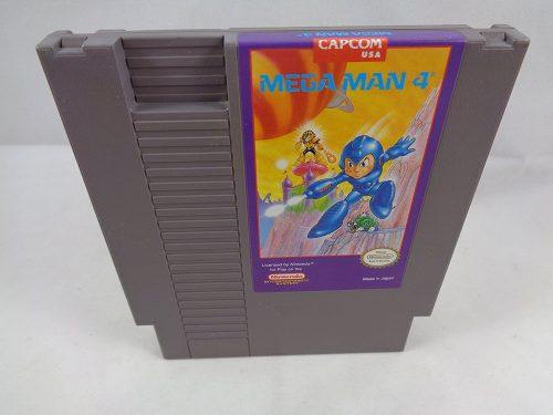 Mega Man 4, rares Videospiel für den Nintendo NES