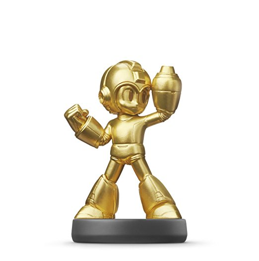 Mega Man - Gold amiibo Legacy Collection, selten, wertvoll