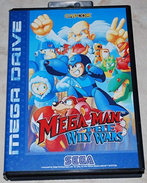 Mega Man - The Wily Wars, wertvolles PAL-Spiel für den Mega Drive 2