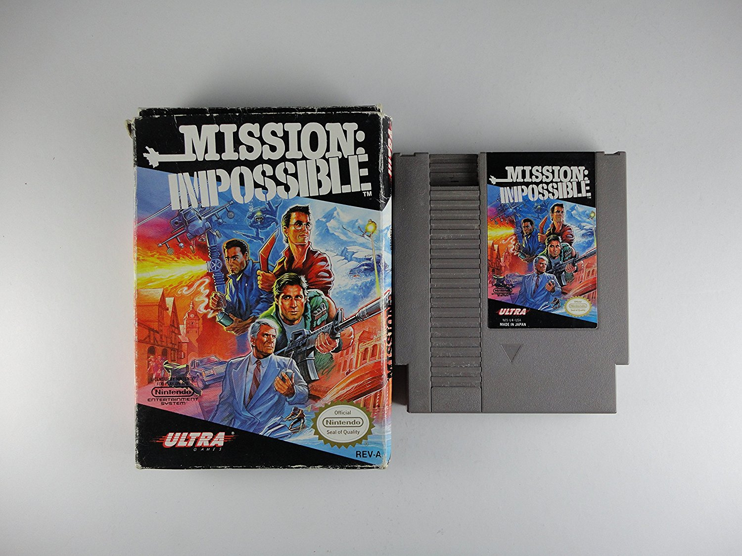 Mission Impossible, NES-sehr selten