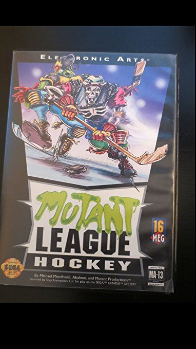 Mutant League Hockey, alle seltenen Mega Drive Spiele