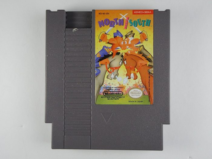 North and South (Nintendo NES), sehr selten