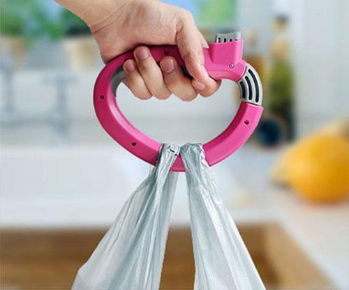 Einkaufstütenhalter / Griff für mehrere Taschen bis 20 kg