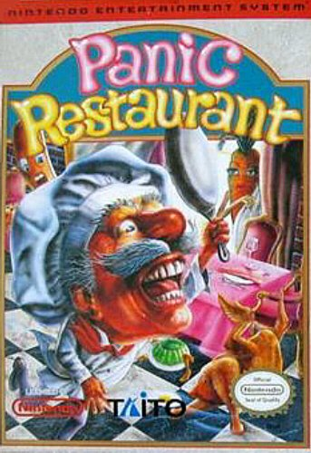 Panic Restaurant, wertvolles Videospiel Nintendo