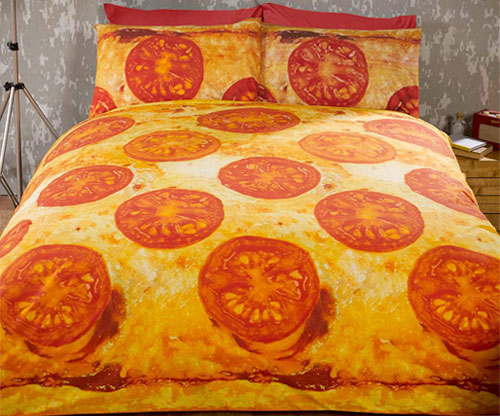 Pizza Bettbezug