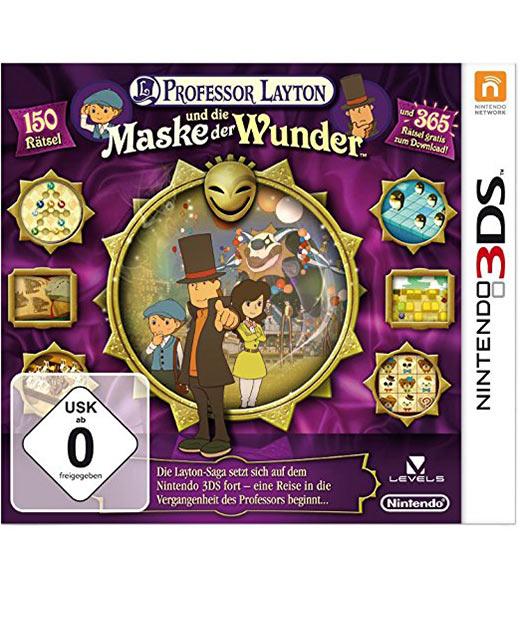Professor Layton und die Maske der Wunder für Nintendo 3DS, Level-5, Japan