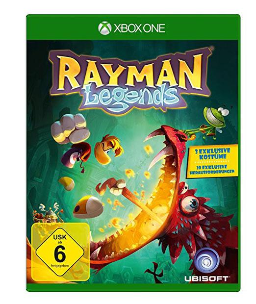 Rayman Legends für die XBox One, Ubisoft, Frankreich