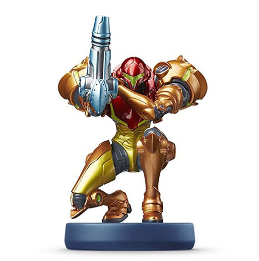 Samus Aran - Metroid amiibo Figur