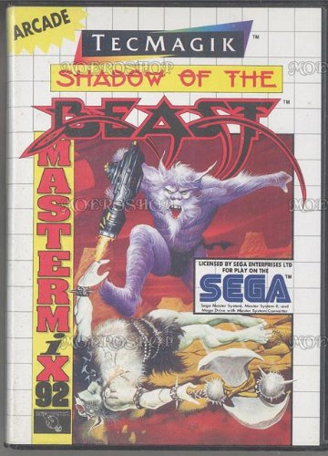 Shadow of the beast - Master System - PAL, wertvoll