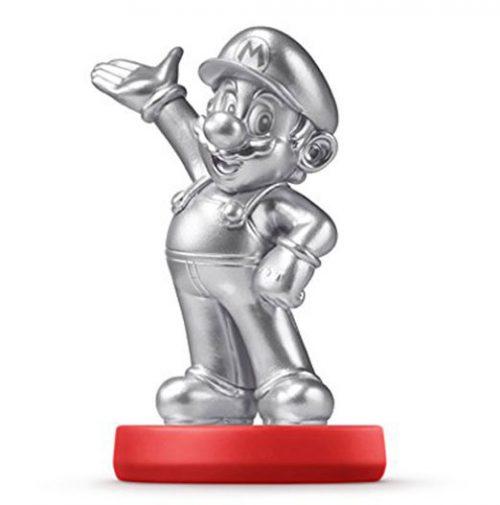silbern / silver Mario - teuer wertvoll amiibo