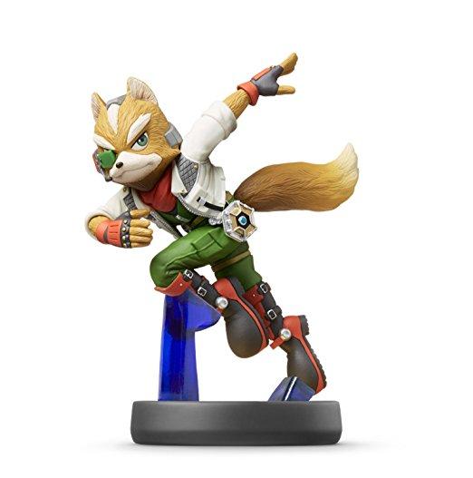 Fox amiibo Spielfigur - Super Smash Bros. Collection