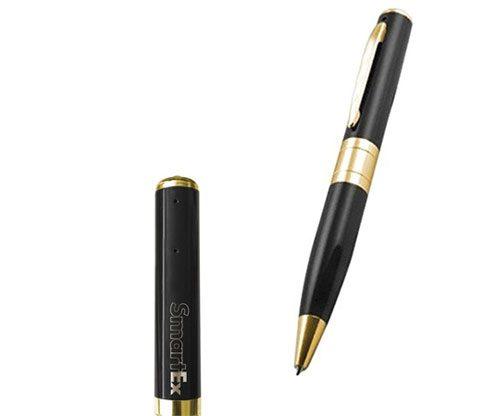 Kugelschreiber mit unsichtbarer Kamera / Spion mit Audio- und Videoaufnahmefunktion