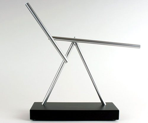 Swinging Sticks - kinetische Skulptur