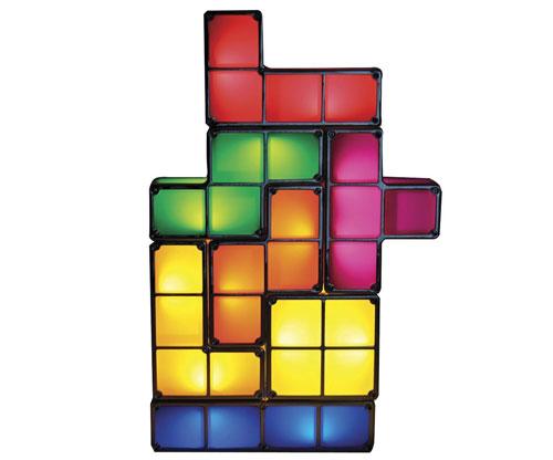 Tetris Lampe Nachttisch