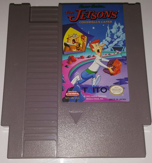 NES - The Jetsons: Cogswell's Caper, seltenes NES-Spiel