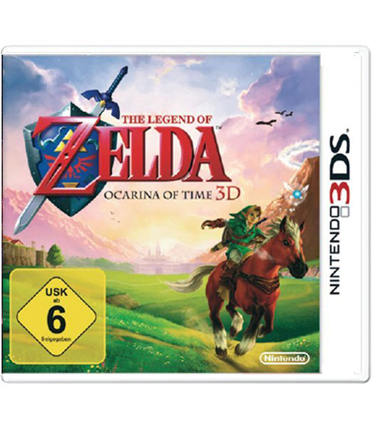 The Legend of Zelda: Ocarina of Time für den Nintendo 3DS