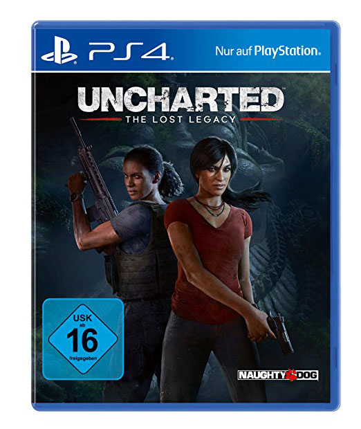 Uncharted: The Lost Legacy - optimiert für PS4 Pro, Naughty Dog, USA