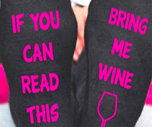 Frauen Socken - If you can read this, bring me some wine