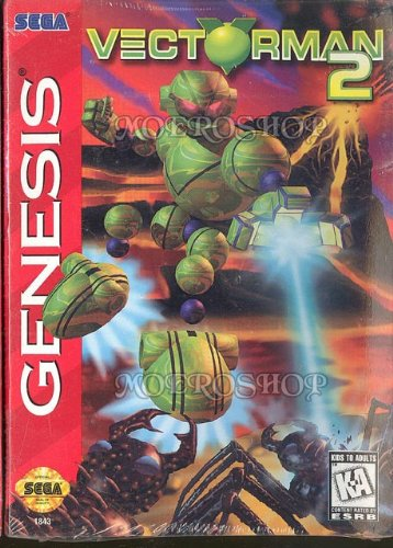 Vectorman 2 - Genesis - US, extremely rare