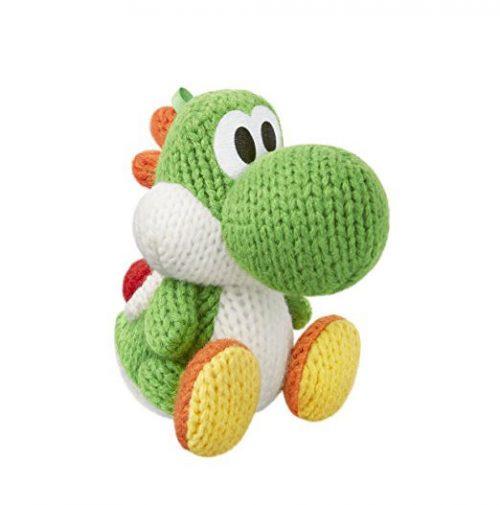 Nintendo amiibo Woll-Yoshi Grün Woolly World