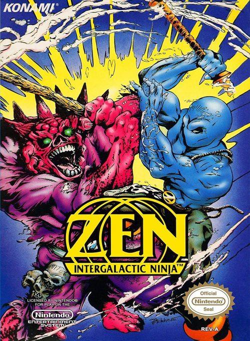 Zen Intergalactic Ninja NES Nintendo, sehr selten